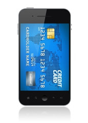 Take credit cards on Smart Phones!