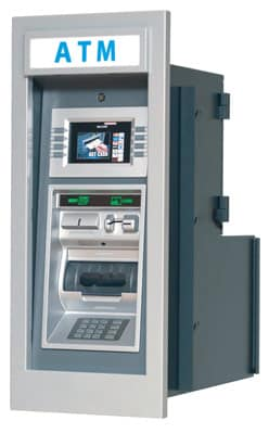 Genmega GT 3000 ATM Machine, Side View