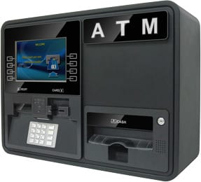 Nautilus Hyosung Onyx W Wall-Mount or Countertop ATM, right view