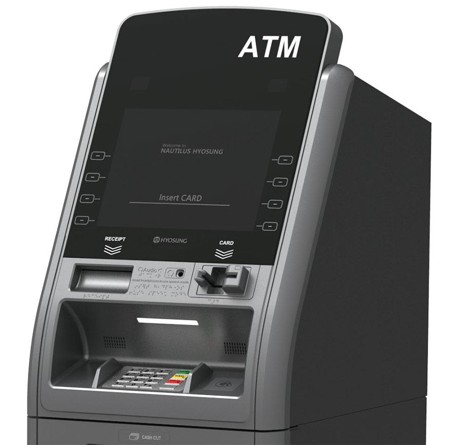 Nautilus Hyosung FORCE ATM MX2800SE Detail Image