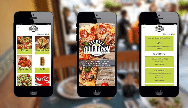 Thrive custom mobile app for your restaurant